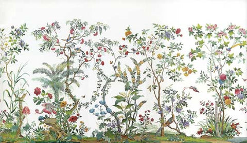 Wallpaper, Chinoiserie Garden Mural