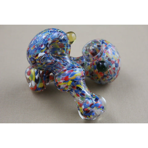 "3"" Multi Frit Ball Pipes - Smokes Pros"