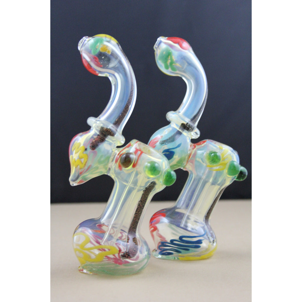 Dichro Rasta Medium Bubbler - Smokes Pros