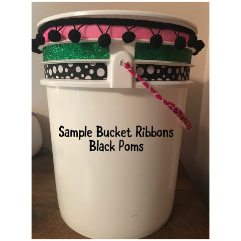 DYC - Cheer Bucket with TRIM ONLY