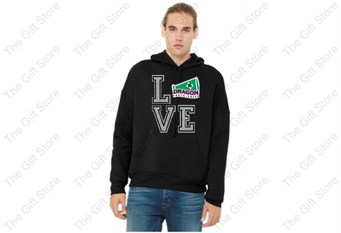 DYC - Youth/Adult LOVE Hoodie