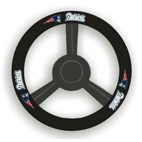 New England Patriots Nfl Leather Steering Wheel Cover
