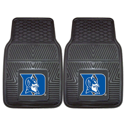 Duke Blue Devils Ncaa Heavy Duty 2-piece Vinyl Car Mats (18x27)