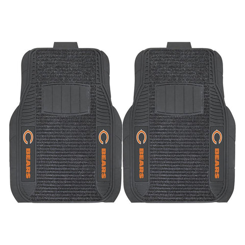 Chicago Bears Nfl Deluxe 2-piece Vinyl Car Mats (20x27)