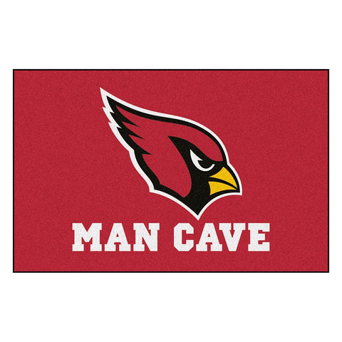 Arizona Cardinals Nfl Man Cave Starter Floor Mat (20in X 30in)