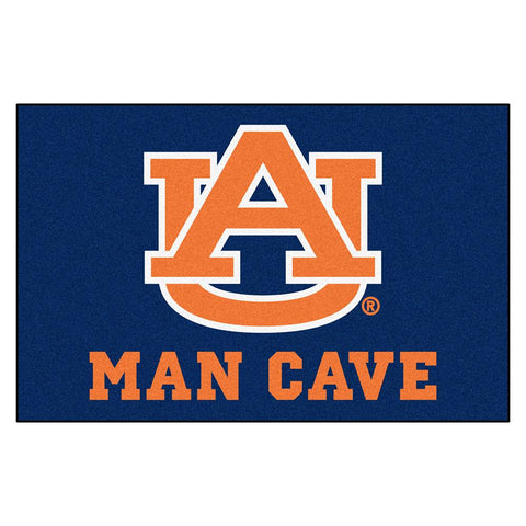 Auburn Tigers Ncaa Man Cave Starter Floor Mat (20in X 30in)