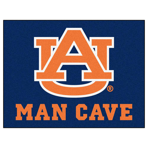 Auburn Tigers Ncaa Man Cave All-star Floor Mat (34in X 45in)