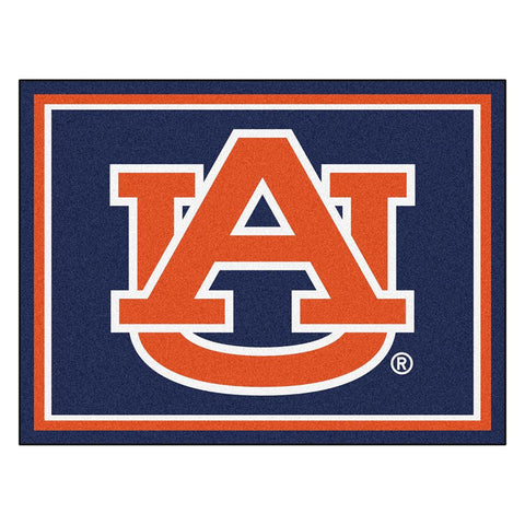 Auburn Tigers Ncaa 8ft X10ft Area Rug