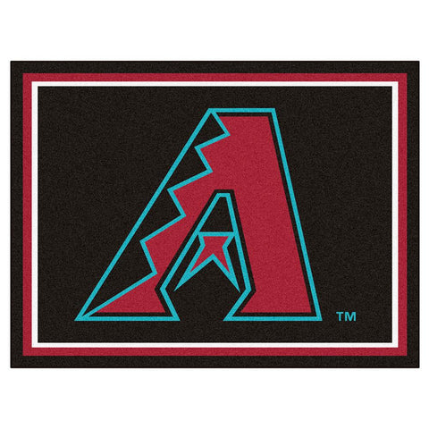 Arizona Diamondbacks Mlb 8ft X10ft Area Rug