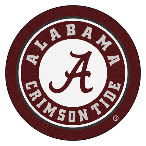 Alabama Crimson Tide Ncaa Rounded Floor Mat (29in)