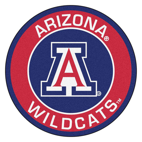 Arizona Wildcats Ncaa Rounded Floor Mat (29in)