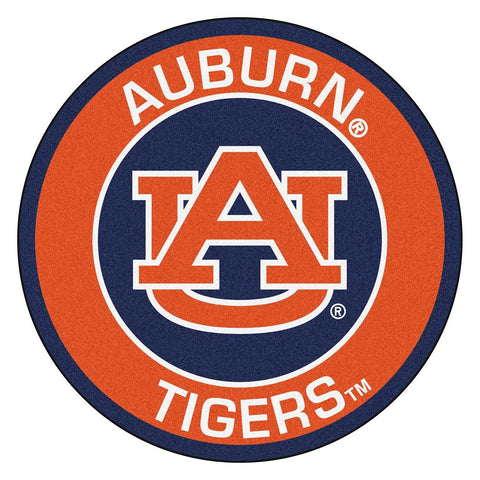 Auburn Tigers Ncaa Rounded Floor Mat (29in)
