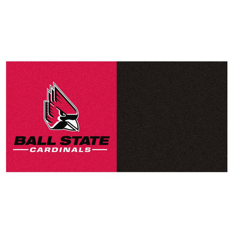Ball State Cardinals Ncaa Team Logo Carpet Tiles