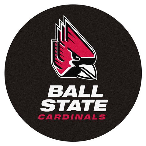 Ball State Cardinals Ncaa Puck Mat (29 Diameter)
