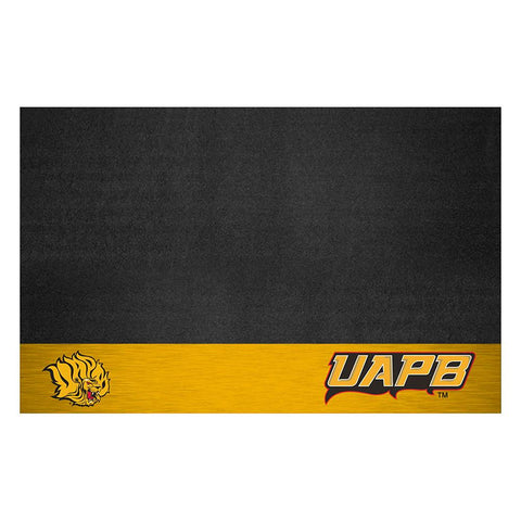 Arkansas Pine Bluff Golden Lions Ncaa Vinyl Grill Mat
