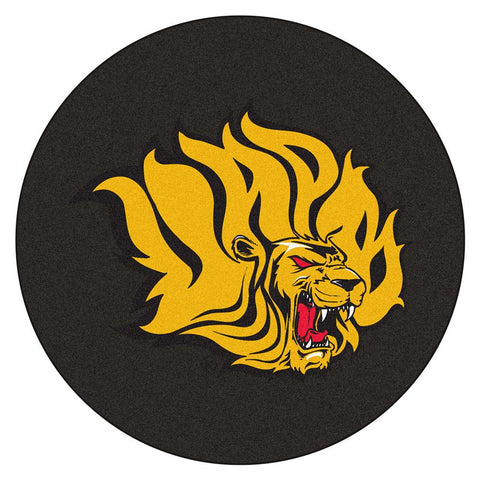 Arkansas Pine Bluff Golden Lions Ncaa Puck Mat (29 Diameter)