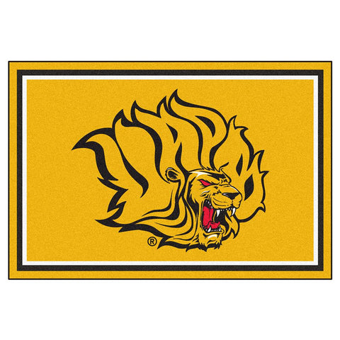 Arkansas Pine Bluff Golden Lions Ncaa 5ft X 8ft  Rug