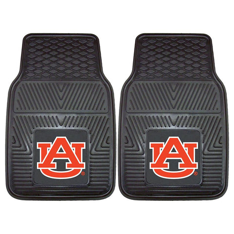 Auburn Tigers Ncaa Heavy Duty 2-piece Vinyl Car Mats (18x27)