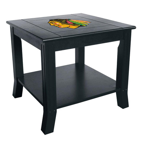 Chicago Blackhawks Nhl Side Table