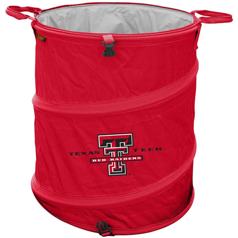 Texas Tech Red Raiders Ncaa Collapsible Trash Can