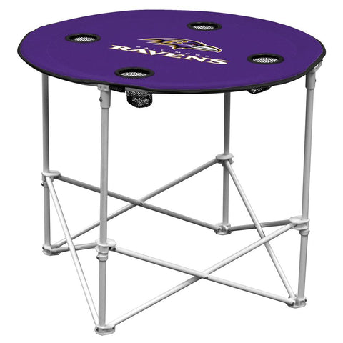 Baltimore Ravens Nfl Portable Round Table