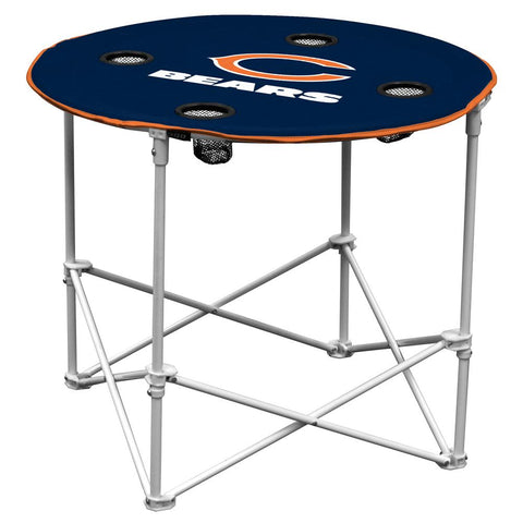 Chicago Bears Nfl Portable Round Table