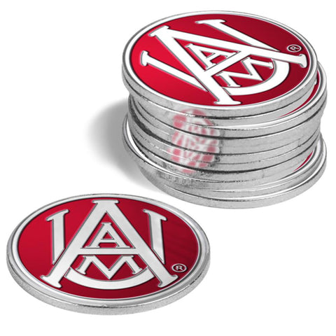 Alabama A&m Bulldogs Ncaa Ball Markers (12 Pack)