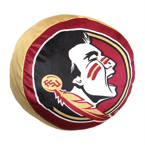 Florida State Seminoles Ncaa 15in Cloud Travel Pillow