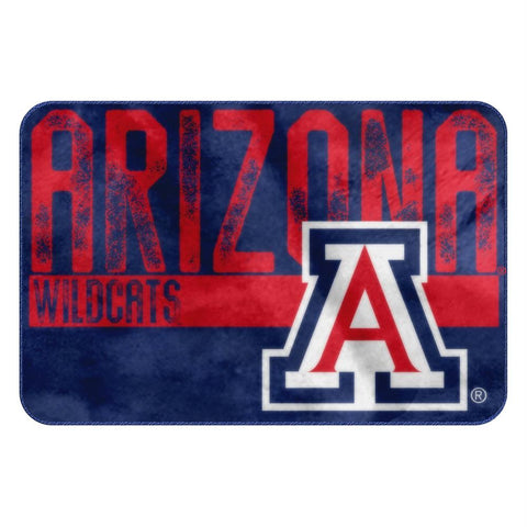 Arizona Wildcats Ncaa Bathroom Decorative Foam Rug