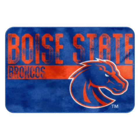 Boise State Broncos Ncaa Bathroom Decorative Foam Rug