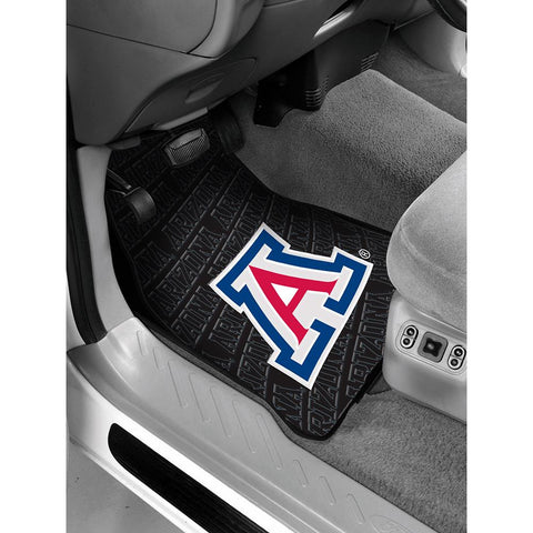 Arizona Wildcats Ncaa Car Front Floor Mats (2 Front) (17x25)