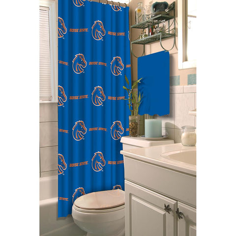 Boise State Broncos Ncaa Shower Curtain