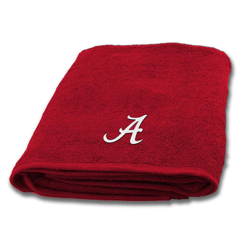 Alabama Crimson Tide Ncaa Applique Bath Towel