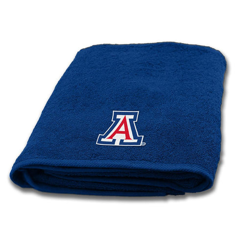 Arizona Wildcats Ncaa Applique Bath Towel