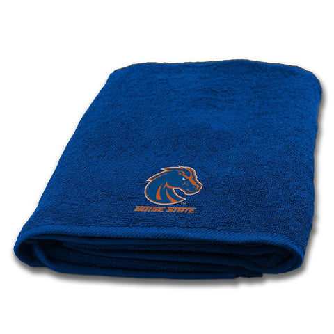 Boise State Broncos Ncaa Applique Bath Towel