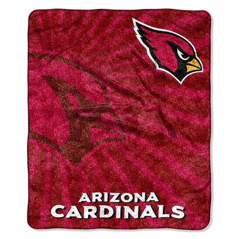 Arizona Cardinals Nfl Sherpa Throw (strobe Series) (50in X 60in)