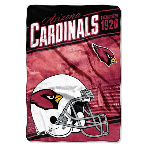 Arizona Cardinals Nfl Stagger Oversized Micro Raschel (62in X 90in)