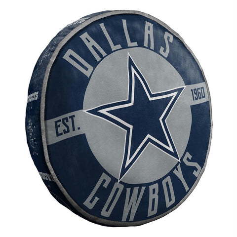 Dallas Cowboys Nfl 15in Cloud Travel Pillow