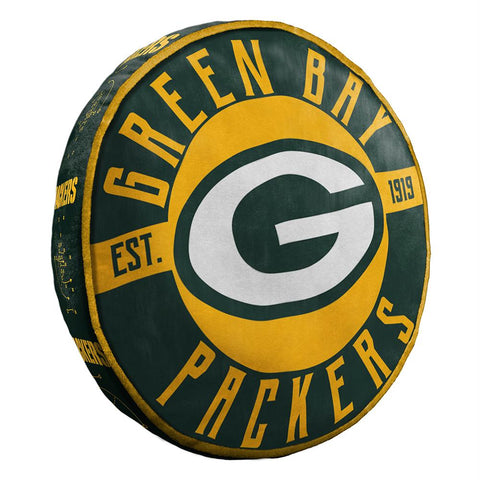 Green Bay Packers Nfl 15in Cloud Travel Pillow