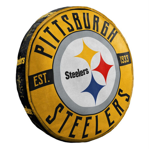 Pittsburgh Steelers Nfl 15in Cloud Travel Pillow