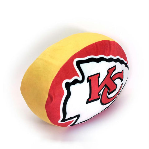Kansas City Chiefs Nfl 15in Cloud Travel Pillow