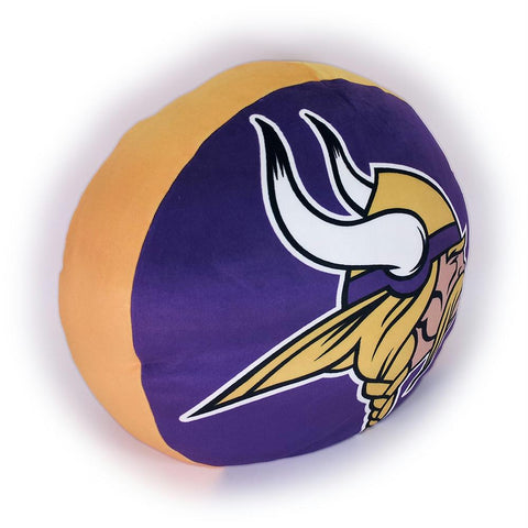 Minnesota Vikings Nfl 15in Cloud Travel Pillow