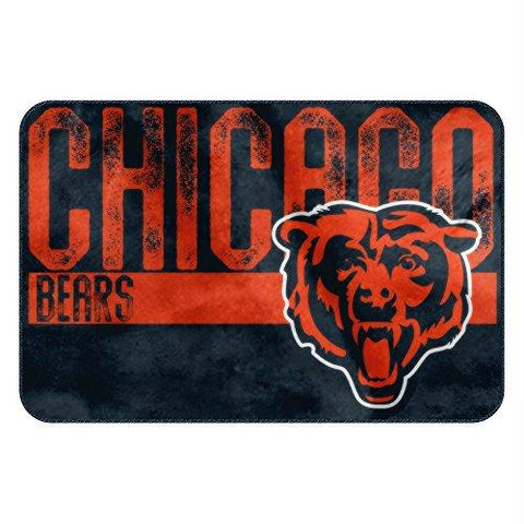 Chicago Bears Nfl Bathroom Decorative Foam Rug