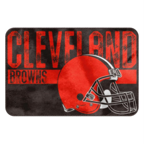 Cleveland Browns Nfl Bathroom Decorative Foam Rug