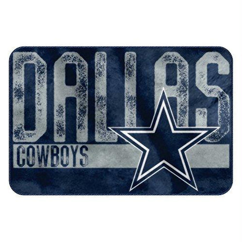 Dallas Cowboys Nfl Bathroom Decorative Foam Rug