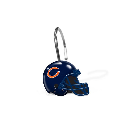Chicago Bears Nfl Shower Curtain Rings