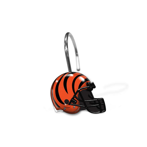Cincinnati Bengals Nfl Shower Curtain Rings