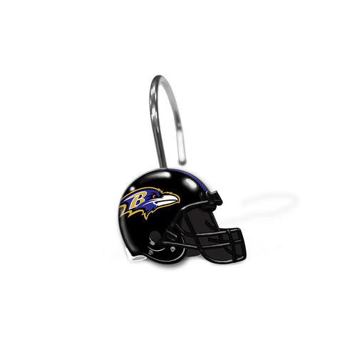 Baltimore Ravens Nfl Shower Curtain Rings