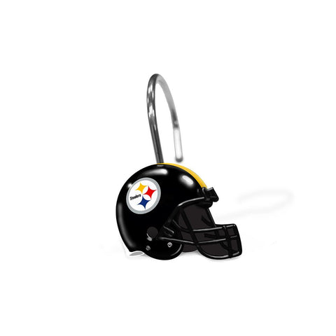 Pittsburgh Steelers Nfl Shower Curtain Rings