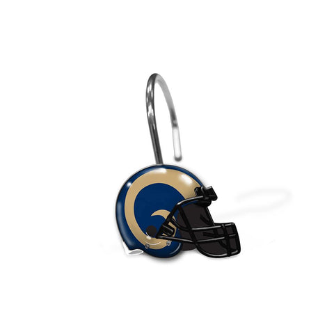 St. Louis Rams Nfl Shower Curtain Rings